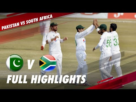Pakistan vs South Africa | Full Match Highlights | 2nd Test