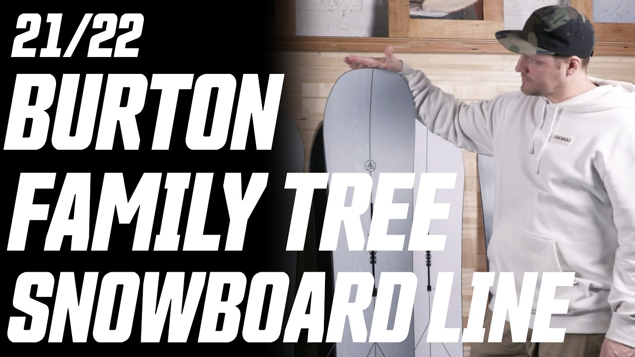 Download 21/22 Burton Family Tree Snowboard Line