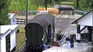 Güterwagentransport Oberweißbacher Bergbahn