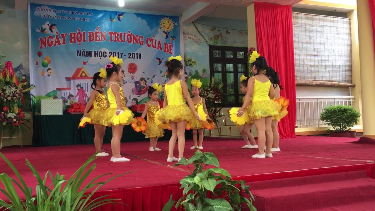 Lễ khai giảng trường mầm non phú thịnh năm học 2017-2018
