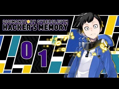 Let's Play Digimon Story Cyber Sleuth: Hacker's Memory [Blind] - #01 - Rückkehr in die digitale Welt