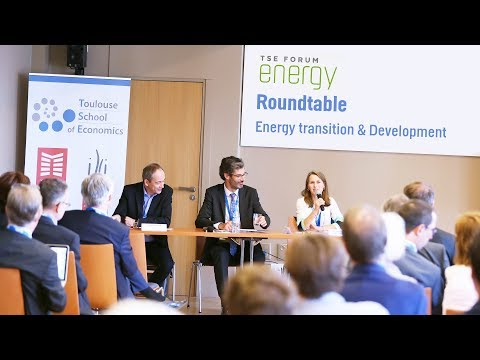 TSE Forum 2017 - Roundtable: Energy transition & Development
