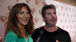 The Health Lottery's £100 Million Afternoon Tea! Lizzie Cundy meets Simon Cowell