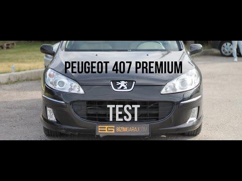 Peugeot 407 Premium 2.0 SW Test,Tecrübe ve Yorumlar