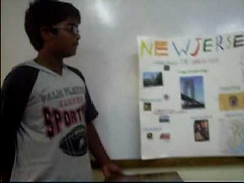 sidharth's project presentation  on state New Jersey.AVI