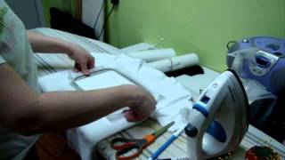 How To Stabilize a Shirt For Machine Embroidery