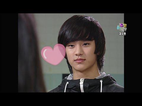 【TVPP】Kim Soo Hyun - Summary Of Kimchi Cheese Smile [2/2], 김수현 - 김치 치즈 스마일 줄거리 [2/2] @ Happy Time