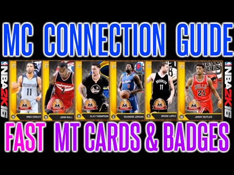 NBA 2K16 - GET ALL CONNECTIONS FAST   MY CAREER CONNECTIONS & BADGES GUIDE