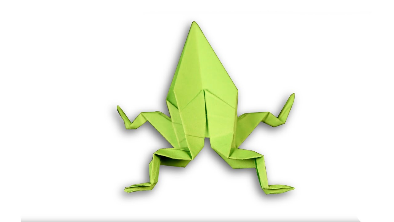 3D Origami Frog | DIY | Learn Origami | How To Make Easy ... - photo#34