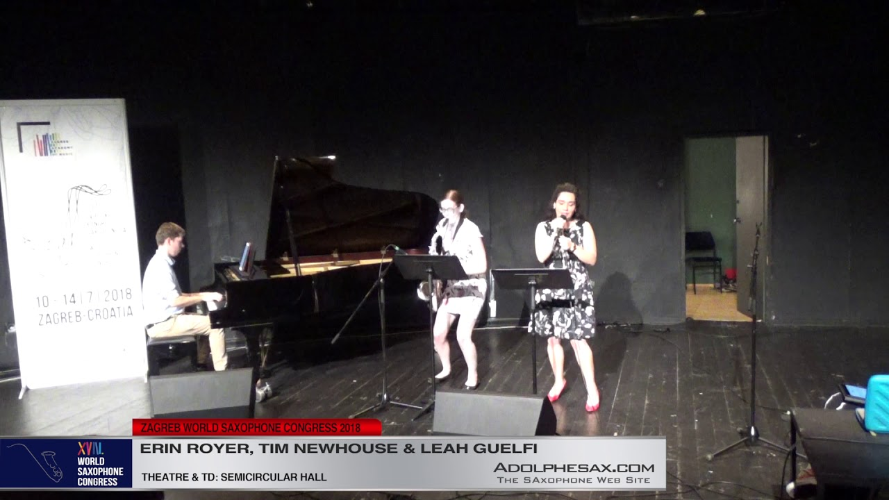 Golden Coastlines by Tim Newhouse   Erin Royer, Tim Newhouse & Leah Guelfi   XVIII World Sax Congres