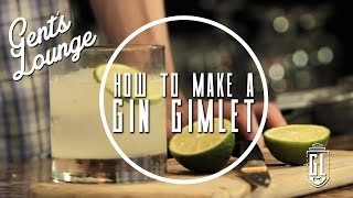 How To Make A Gin Gimlet 1/3