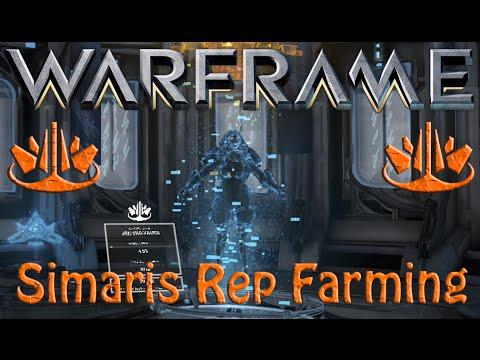 Warframe Cephalon Simaris Rep Farming Youtube
