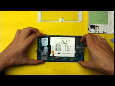 Samsung Galaxy TAB 4 - SM T230 Reparar pantalla táctil o digitalizador (Replacement Touchscreen)