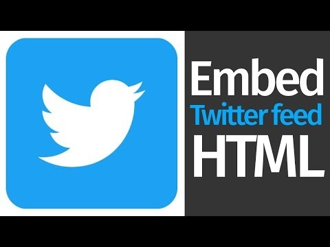 How To Embed Twitter Feed In A Website