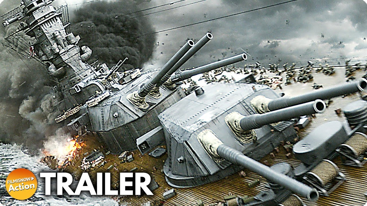 THE GREAT WAR OF ARCHIMEDES (2021) US Trailer | Yamato Warship Film