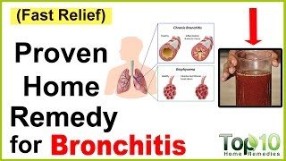 A Quick Home Remedy for Bronchitis
