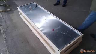 Проверка герметичности цинкового гроба для груза 200