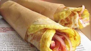 Kolkata Special Egg Rolls  – How To Make Kolkata Style Egg Rolls
