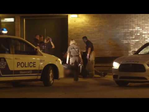 Police Academie   Web Documentaire Interventions SPVM 2015