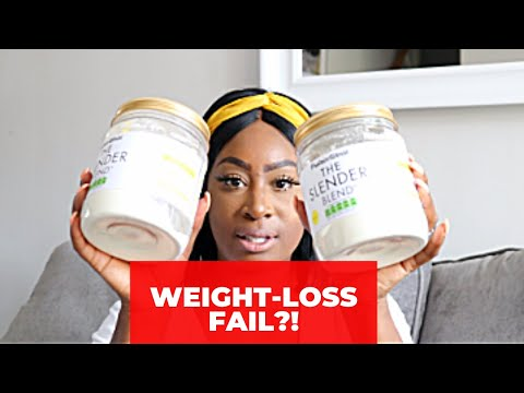 Weight Loss Fail?! Losing This Mummy Fat With Protein World Slender Blend Plan