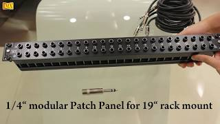 What is a Patch bay and Bantam Cable