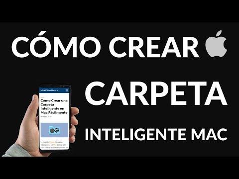 ¿Cómo Crear una Carpeta Inteligente en Mac Fácilmente?