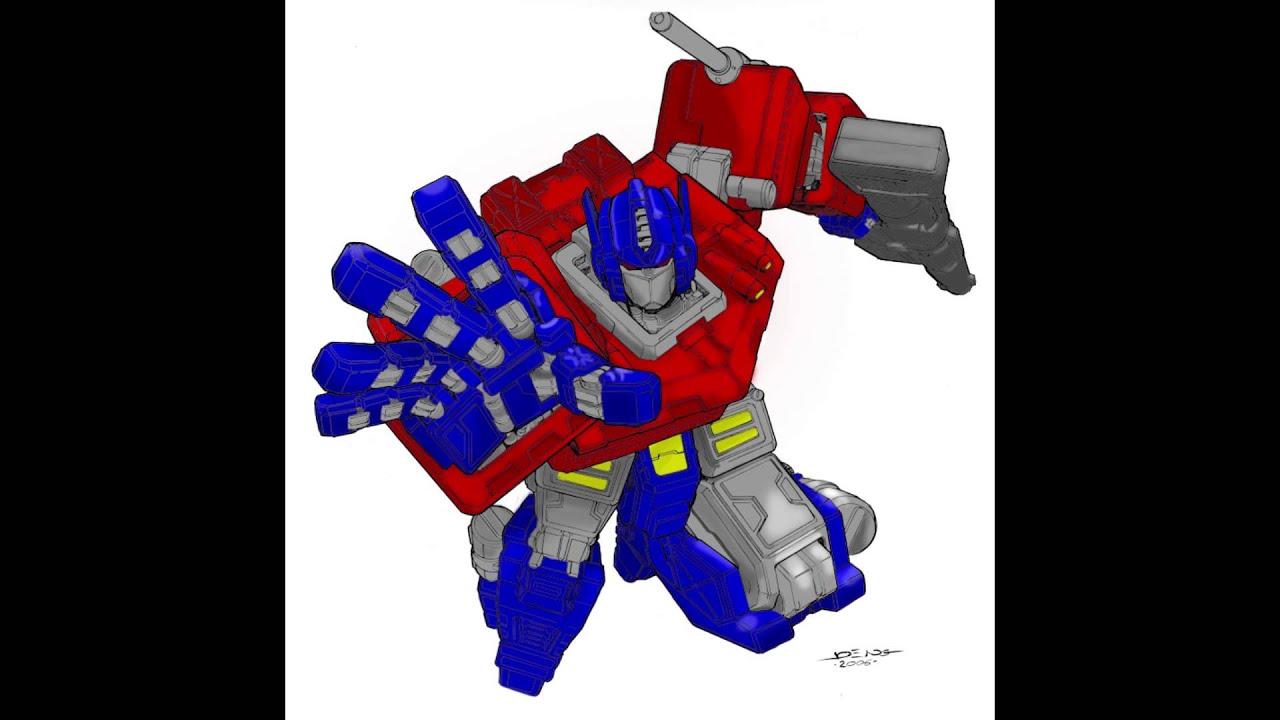 Optimus Prime Coloring YouTube