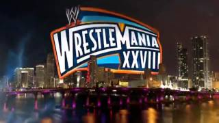 WWE Wrestlemania XXVIII Full Match Card