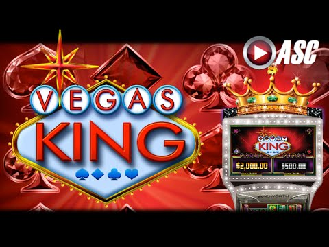 *NEW GAME* VEGAS KING - Ainsworth - Slot Machine Bonus Win - 동영상