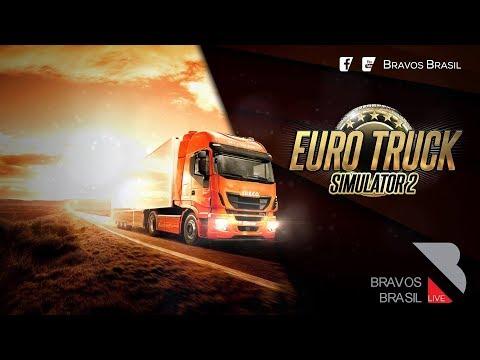 🔴► AO VIVO Euro Truck Simulator 2 # 114 heavy cargo pack