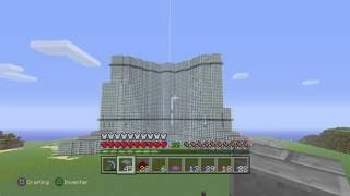 Burj Khalifa Minecraft kein  Kreativmodus (no creative mode)