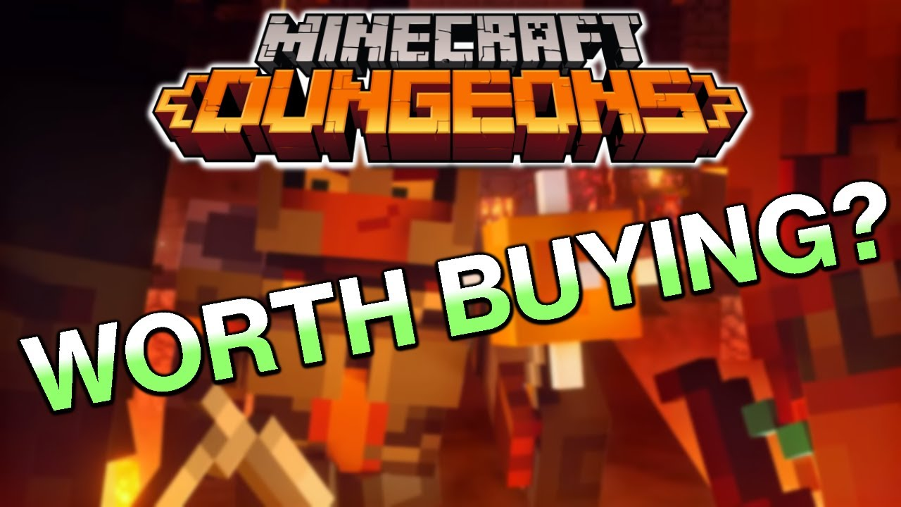 Is Minecraft Dungeons Worth Playing?