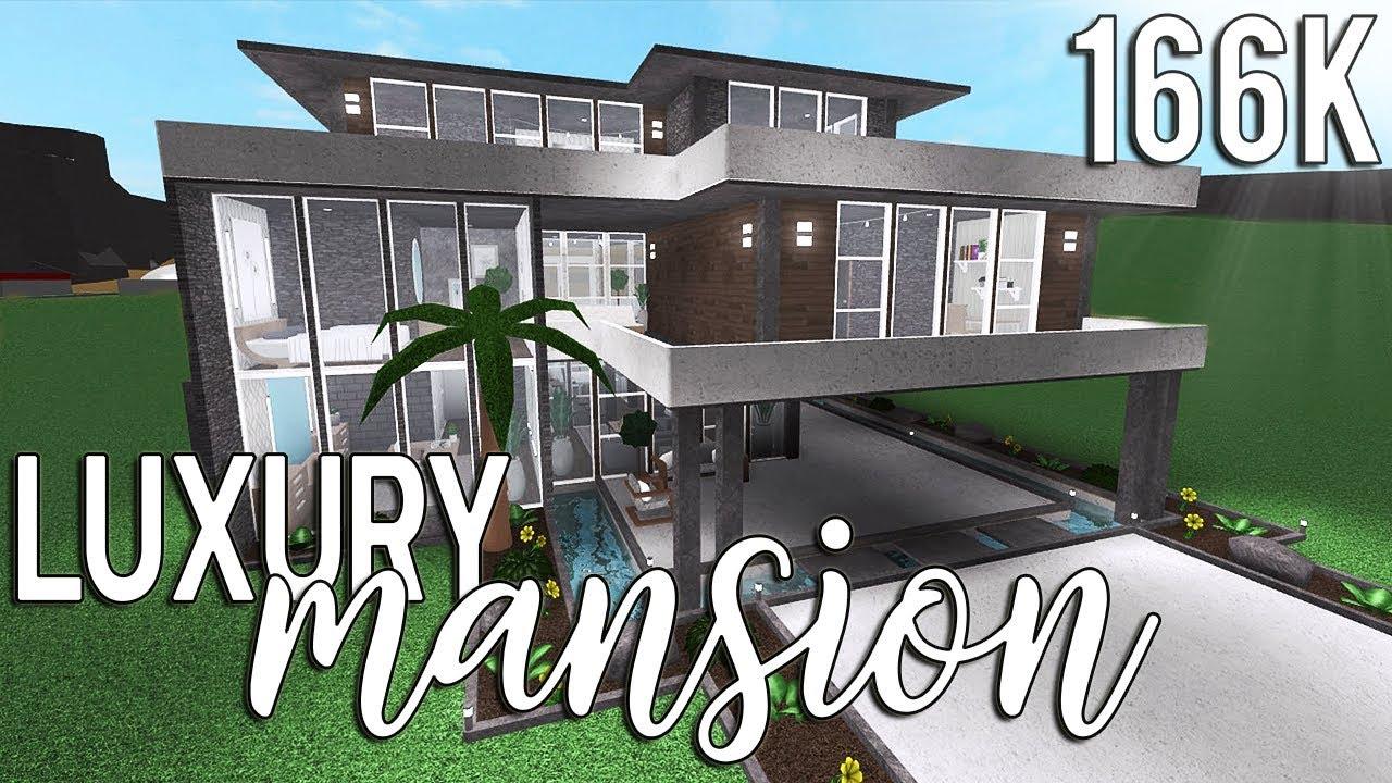 ROBLOX   Bloxburg Luxury Mansion 12k