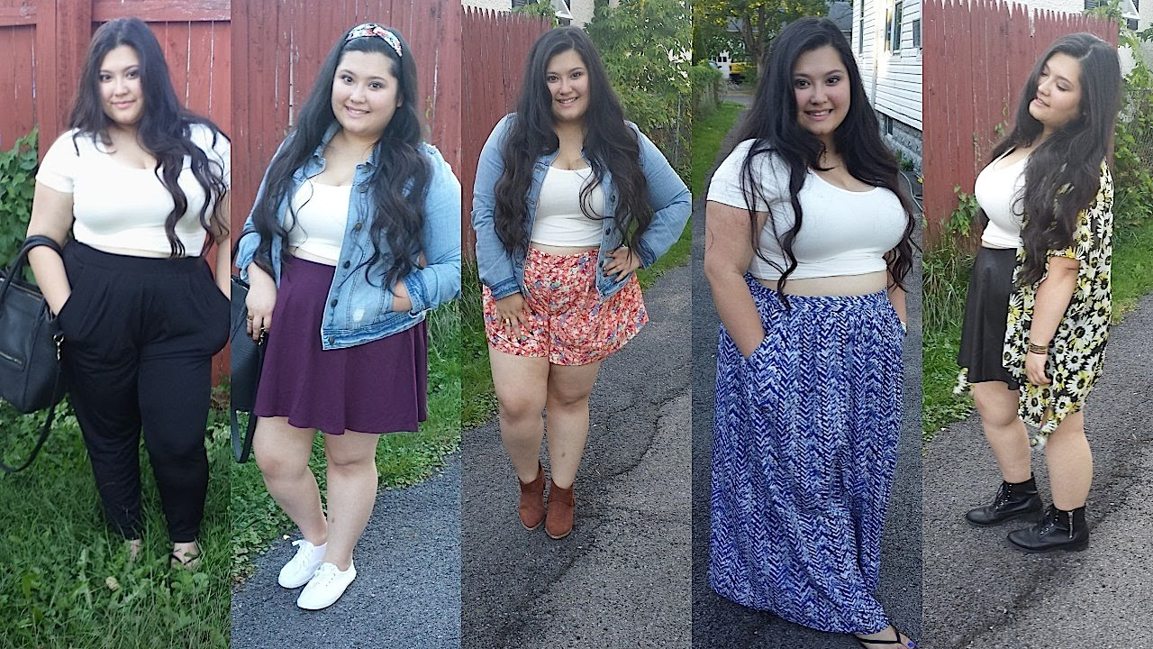 +Plus Size || How I Style Crop Tops