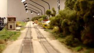 Midwest Valley Modelers Detailed HO scale train layout