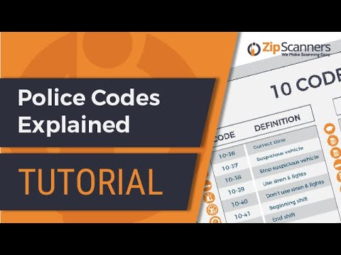 Police Codes Explained | Tutorial
