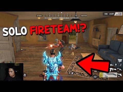 KINAKATAKUTAN KO SA SOLO VS FIRETEAM!  [TAGALOG] (Rules of Survival: Battle Royale)