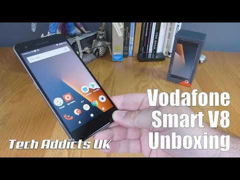 Vodafone Smart V8 Unboxing