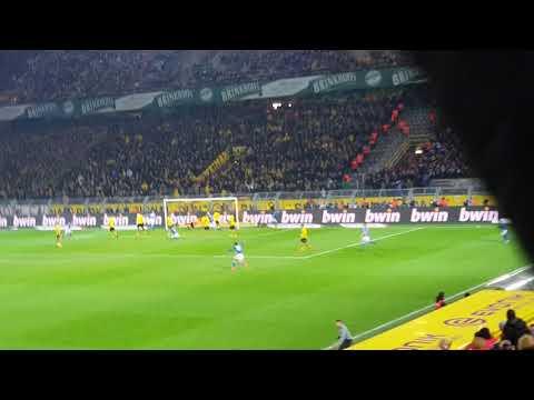 Das 4:4  BVB vs. SCHALKE 04 aus Block 45