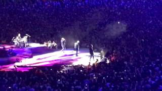 Bad by U2 live in Toronto at Rogers Centre on Friday, June 23, 2017.