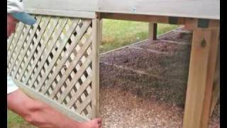 How To Build A Deck, Part 8 - Finishing Touches. All You Need To Know About How To Build A Deck