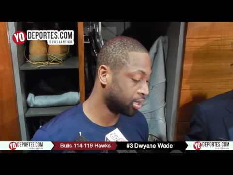 Dwyane Wade Chicago Bulls 114-119 Atlanta Hawks