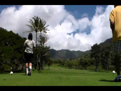 The Scrubs at Makaha Valley Country Club!