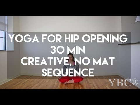 Yoga for Hip Opening Creative Flow Sequence - 30 Minute