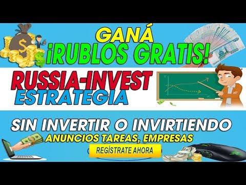 RUSSIA-INVEST| ESTRATEGIA PARA GANAR MUCHOS RUBLOS | RUBLOS GRATIS DESDE CASA| 2018 TUTORIAL
