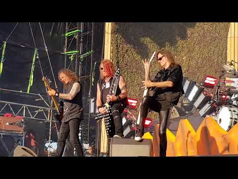 Helloween - live Firenze rock - starlight, ride the sky,  judas, heavy metal is the law