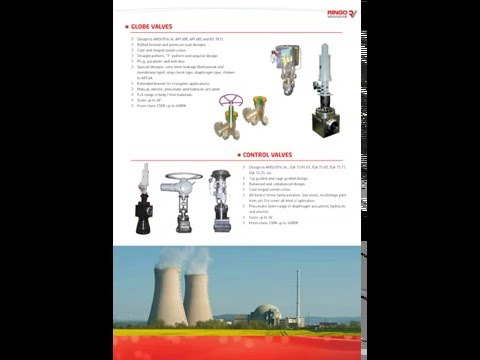 Ringo Valves catalogue valves