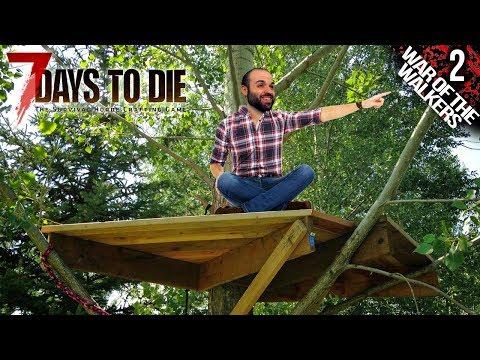 7 DAYS TO DIE M02 | BASE TEMPORAL FÁCIL Y SEGURA | Gameplay Español
