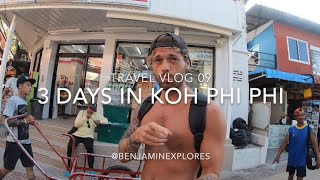 TRAVEL VLOG 09   WHAT TO DO IN KOH PHI PHI? SOUTH THAILAND