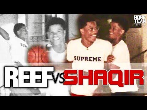 Shareef vs Shaqir O'Neal! 1 on 1 Game on Low Rim